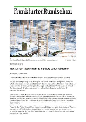 Beitrag in der Frankfurter Rundschau